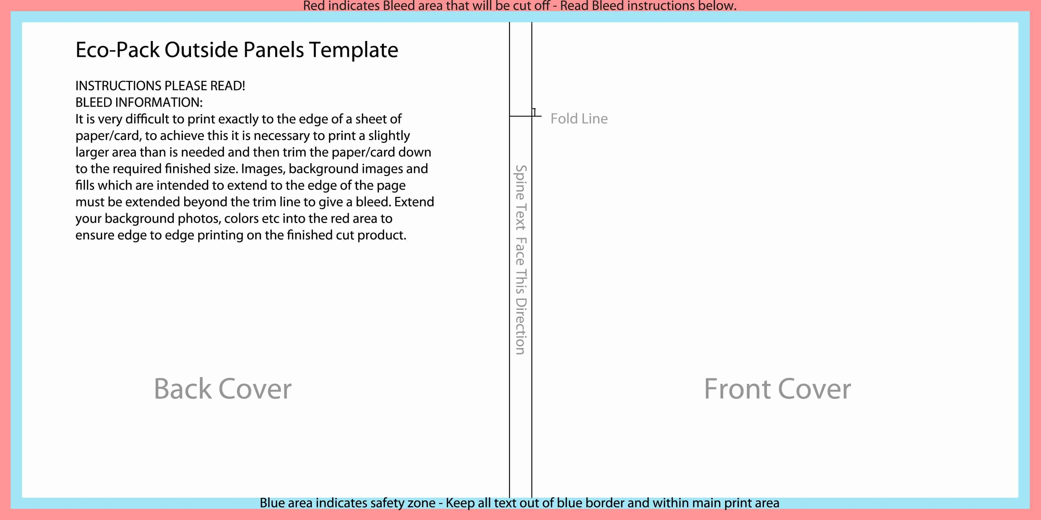 cd spine template - templates for disc packaging els productions