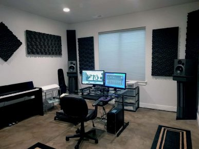 ELS Productions Recording Control Room